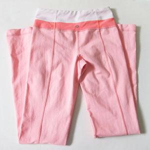 Lululemon Pink Yoga Pants Leggings 2 XS